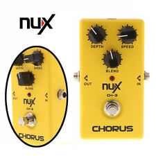 NUX CH-3 Chorus Electric Guitar Effect Pedal True Bypass