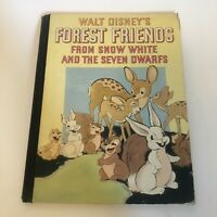 Walt Disney's Forest Friends From Snow White And The Seven Dwarfs