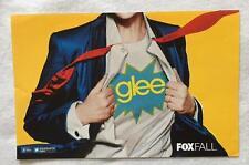 GLEE 11x17 Original Promo TV Poster SDCC 2012 San Diego Comic Con Cory Monteith