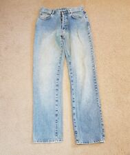 Mens Vintage Light Wash 90s Jeans Size 82 waist