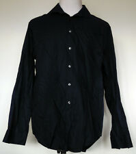 Calvin Klein Blue Slim Fit Button-Front Long Sleeve Cotton Twill Dress Shirt XL