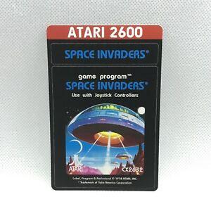 Atari 2600 Cartridge Reproduction Label - Space Invaders
