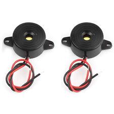 10Pcs Continuous Sound Piezo Buzzers IC Alarm 12V new.Ws