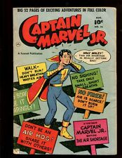 CAPTAIN MARVEL JR. #88 (4.0) HOLY MOLEY! THIS AIR SHORTAGE IS REALLY GETTING BAD