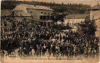 CPA Inauguration de Monument aux Morts de St-Maurice-sous-les-Cotes (255010)