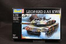 XR008 REVELL 1/72 maquette tank char militaire 03105 Leopard 2A5 KWS année 1996
