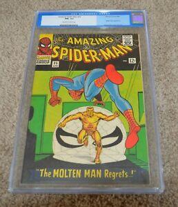 The Amazing Spider-Man #35 MOLTEN MAN Appearance CGC 9.2 Marvel Comics 35