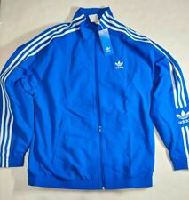 Adidas ED6093 Men Originals Lock up Track Top XL Jacket Blue White Full Zip