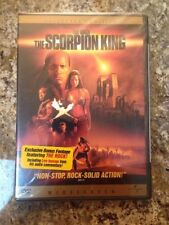 Like New DVD The Scorpion King (Widescreen Collector's Edition) Dwayne 'The Rock