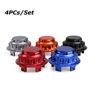 4Pcs/Set Universal 76mm Car Wheel Center Hub Caps Cover Fit for Porsche No Logo