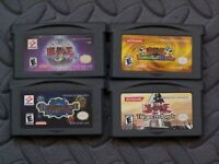 Lot Nintendo Game Boy Advance GBA Games YU-Gi-Oh! Dungeon Dice Monsters + 3 more