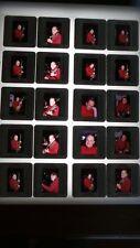Les Paul  LOT OF VINTAGE 35MM SLIDE TRANSPARENCY PHOTO #