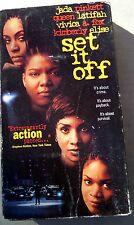 VHS  movie SET IT OFF Jada Pinkett, Queen latifah, Vivica A. Fox, Kimberly Elise