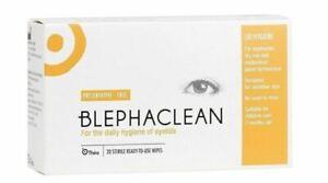 40 x Blephaclean Sterile Wipes