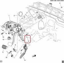 GENUINE GM 13281351 BOLT - Brake Pedal Position Sensor