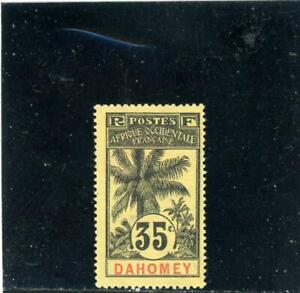 Dahomey 1906 Scott# 25 Mint og hinged