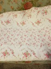 Simply Shabby Chic Queen Size Floral Quilt