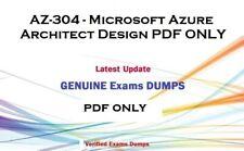 AZURE AZ-304  exam dumps QA and answers