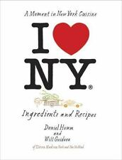 I Love New York: Ingredients and Recipes...NEW  Illustrated Hardcover