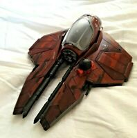 SW CUSTOM Clone RED SHADOWS Star Wars Anakin s STARFIGHTER Action Force Vehicle