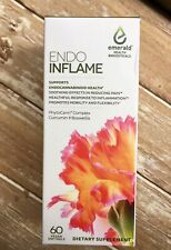 Endo INFLAME- Emerald Health Bioceuticals - 60ct - NEW & Tamper Proof Sealed!