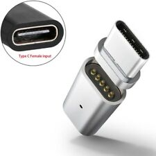 Magnetic Type C Female To Micro USB Type C Male Data Charge Adapter For Android