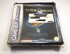 EL SEÑOR DE LOS ANILLOS GAME BOY ADVANCE GBA AÑO 2003 COMPLETO ESPAÑOL ORIGINAL