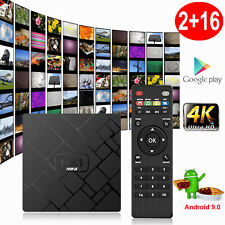 HK1MINI 2+16G Android 9.0 Pie Quad Core 4K Smart TV BOX MINI PC Network Streamer