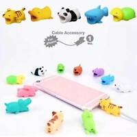 Cartoon Animal Charger Line Protector Cord USB Cable Bite Saver Phone Accessory