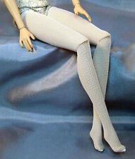 """White Mesh Stockings 11-12"""" Fashion Doll Barbie Fashion Royalty JamieShow"""
