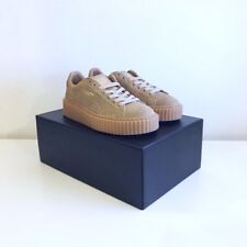 Puma Suede Creeper Creepers Fenty Rihanna UK 4, 6 Oatmeal Gum Tan BNIB Authentic