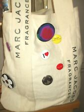 MARC JACOBS Bag, Tote, Shopper, Large with Badges