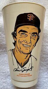 Chris Speier San Francisco Giants MLB Slurpee cup 7-11 7-eleven baseball 1973