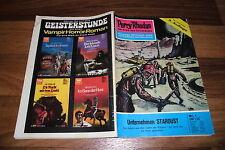 PERRY RHODAN Heft  # 1 -- UNTERNEHMEN STARDUST // von 1973