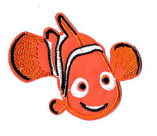 Nemo - Finding Nemo - Clown Fish - Embroidered Iron On Applique Patch