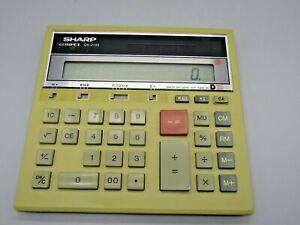 Sharp Compet QS-2130 12-Digit Solar Desktop Calculator Jumbo Display Twin Power