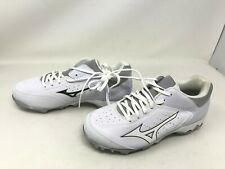 Womens Mizuno (CIC 0817)9-SPIKE ADVANCED FINCH ELITE 3 white softball cleats(11M