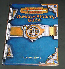 Dungeons & Dragons Dungeon Master's Guide Core Rulebook II d20 D&D  WOTC HC EXC