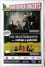 DECEMBERISTS / DEATH CAB FOR CUTIE 2011 Gig POSTER Concert Bend Oregon