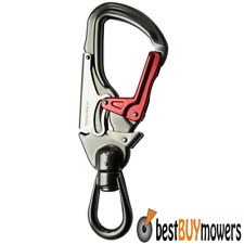 ISC 27kn Swivel Snap Hook Aluminium Karabiner Tree Surgeon Arborist Climbing