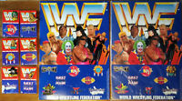 choose: WWF PIN od. SAMMELBORD OVP vintage Anstecker Emblem WRESTLING 1990th rar