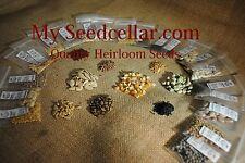 2017-EMERGENCY HEIRLOOM SEED KIT-30 VARIETIES-8,500 seed NON-GMO- FREE SHIPPING-