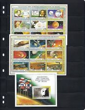 SIERRA LEONE MARS exploration min-sheets/s sheet VF MNH