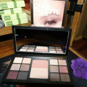 MAC cool palette eye and face new in box full size 12 eyeshadow 2 powder blush