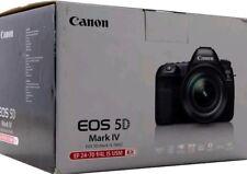 Canon EOS 5D Mark IV 30.4MP Digital SLR Camera - Black (Kit w/ EF 24-70mm f/4L