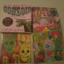 Gonzoid volume 1-6 cd box set fresh creeping andrew liles