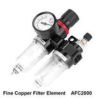 Copper Filter Air Pressure Regulator Oil Water Separator Trap Filter AFC2000 BCD