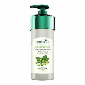 Bio Soya Protein Fresh Nourishing Shampoo (800 ml) From Biotique - Free Delivery