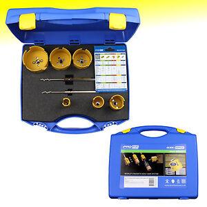 Profit Lochsägenset, 09082580D, 25-35-44-60-68-80 mm, MultiPurpose, Click&Drill