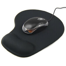Black Soft Comfort Wrist Gel Rest Support Mouse Mat Pad For Computer PC Laptop